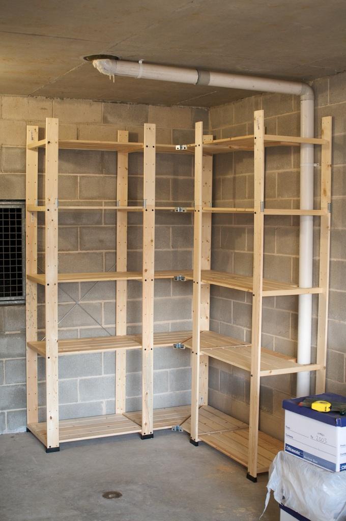 nice garage storage shelves wood cabinets